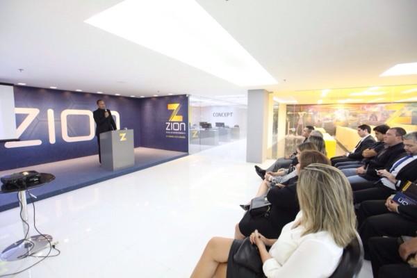Inauguração oficial da Zion Alcântara