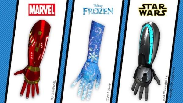 Startup lança série de próteses da Disney