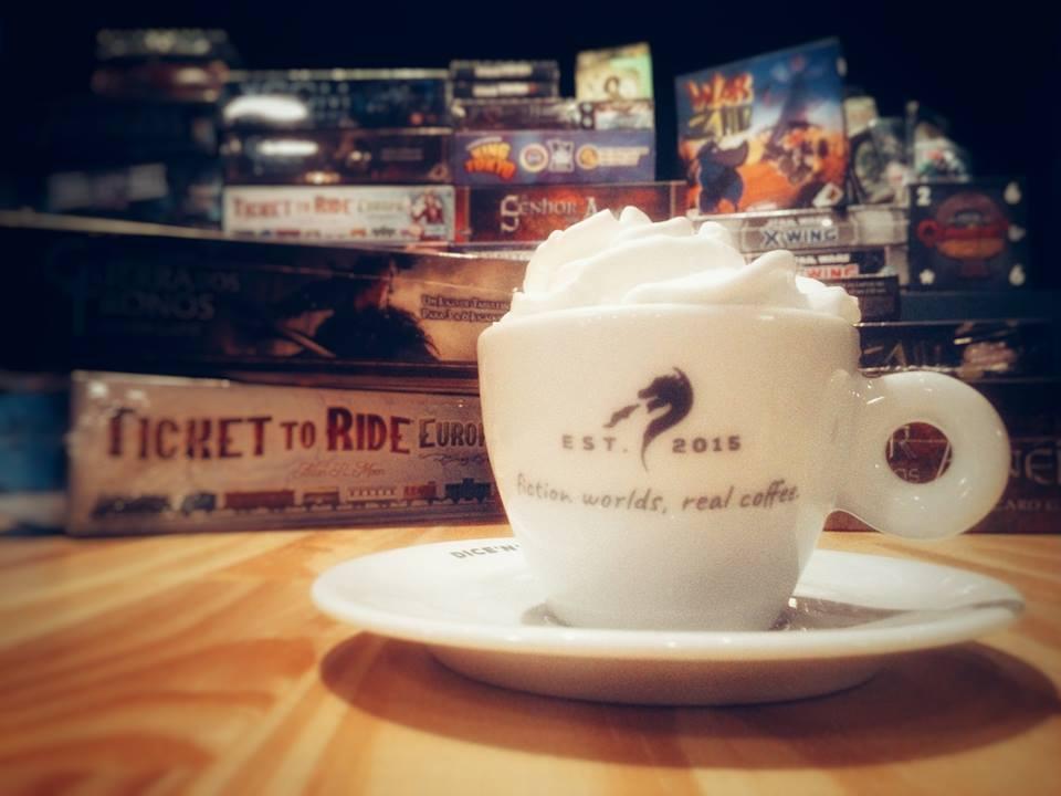 Café e Jogos de tabuleiro