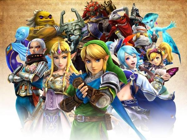 Pinturas à óleo de clássico Legend of Zelda
