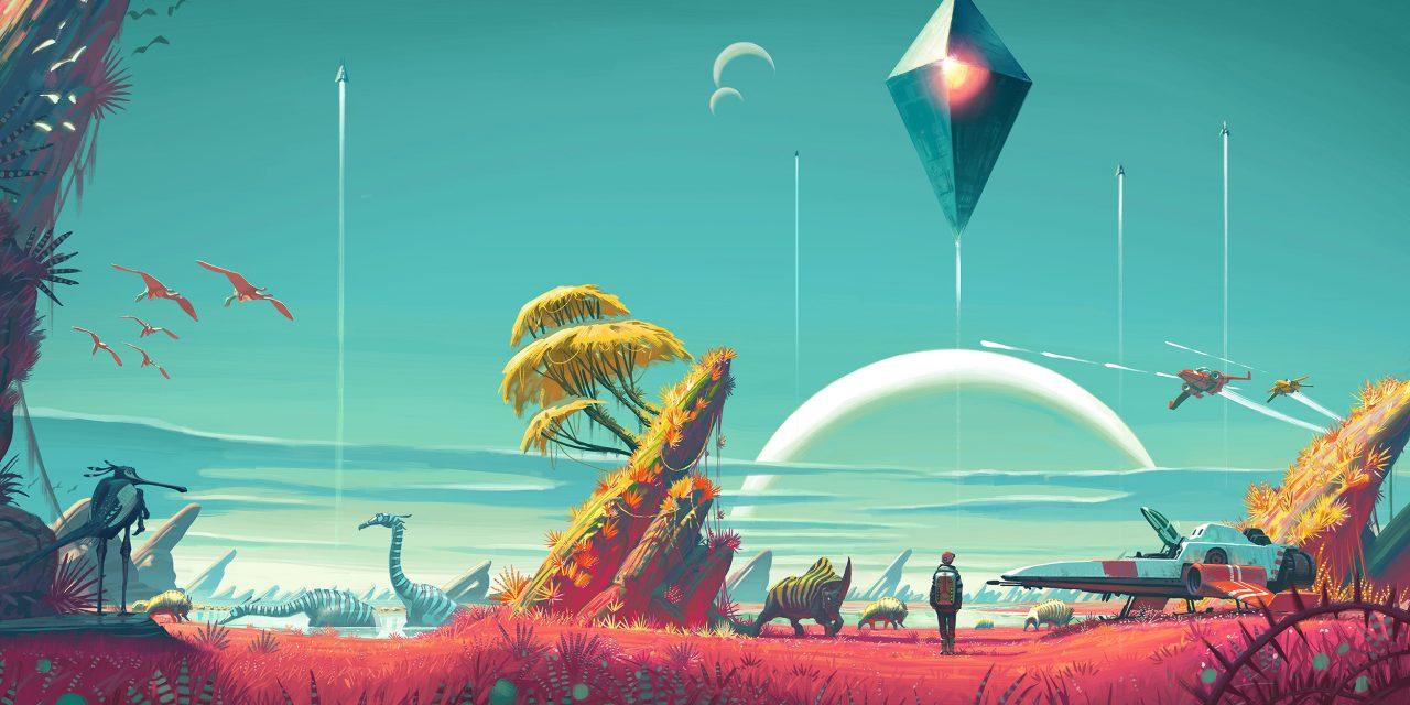 No Man's Sky é um jogo intrigante