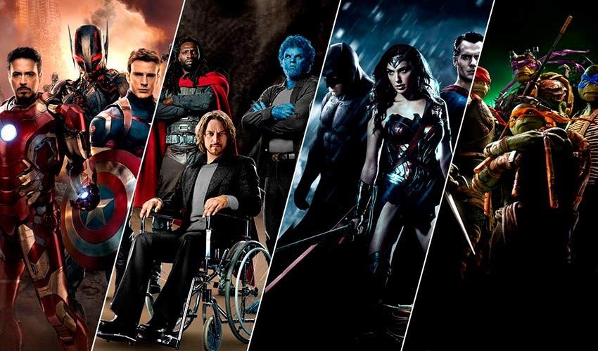A Evolução dos Super-Heróis no cinema