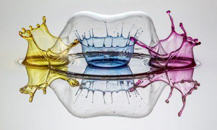 A arte líquida de Markus Reugels