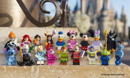 LEGO cria coleção Disney