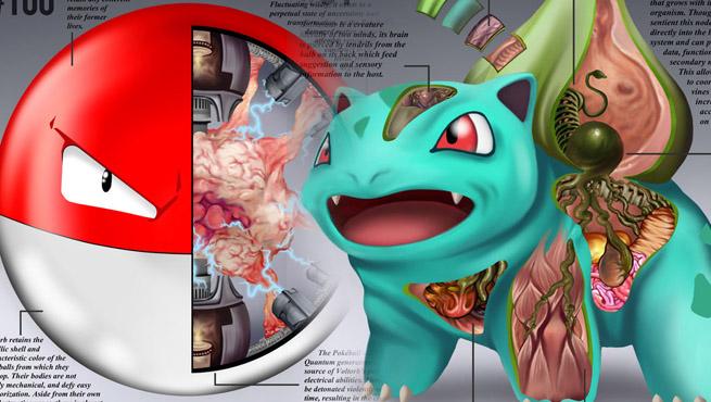 A Anatomia dos Pokémon