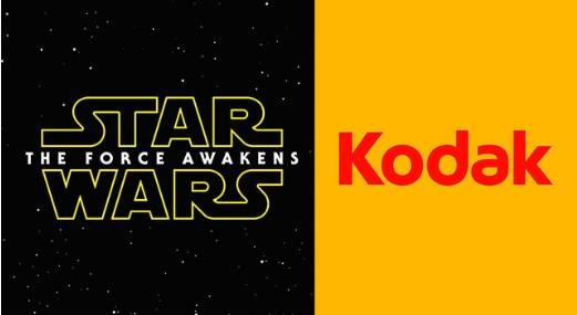 Star Wars foi filmado num filme Kodak