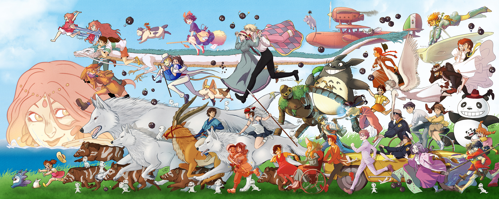 [TOP 5] Animes Studio Ghibli