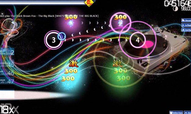 OSU!, o jogo de ritmo gratuito