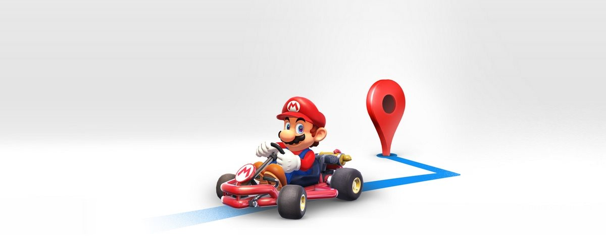 NINTENDO CELEBRA O DIA DO MARIO COM A COLABORAÇÃO DO GOOGLE MAPS