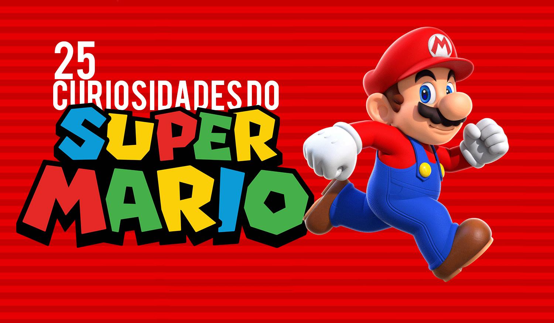 Veja 25 curiosidades do Mario no seu mês de aniversario de 25º anos