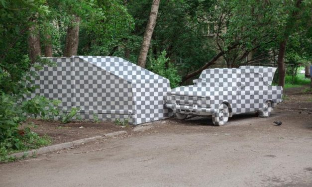 Grupo de artistas excluíram carros e lixos pela rua