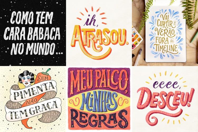 lettering e design gráfico