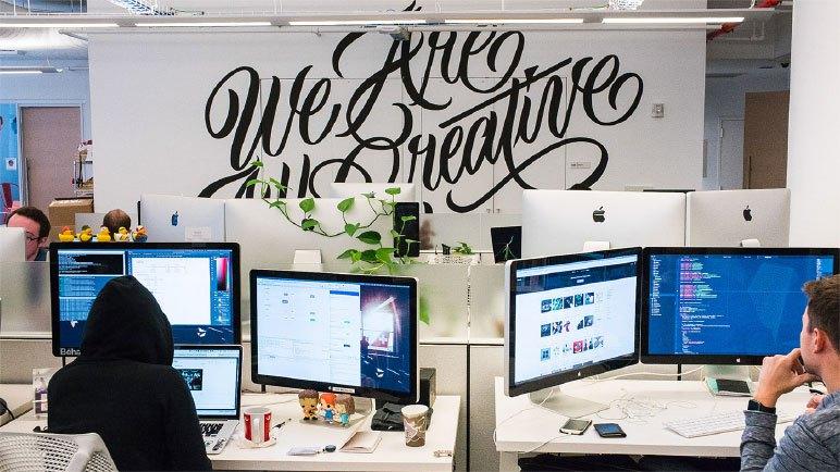 setores de arte digital